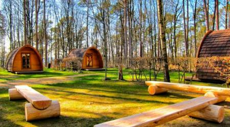 Pods fir hire on Camping Martbusch Berdorf Luxembourg