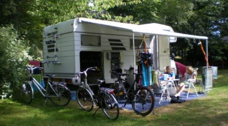 camp with your motorhome campervan on Camping Plage Beaufort Luxembourg