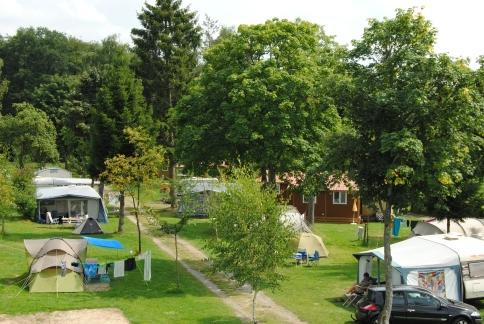 camp in splendid nature on Camping Auf Kengert Larochette Luxemburg