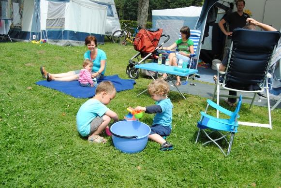children always enjoy themselves on Camping Auf Kengert Larochette Luxemburg