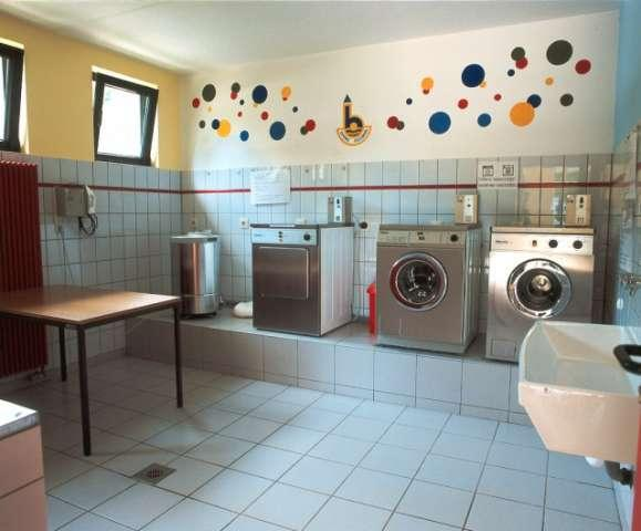 launderette on Camping Bleesbrück Luxembourg