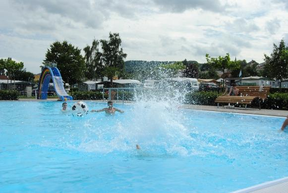 swimming pool Camping du Barrage Rosport Luxembourg