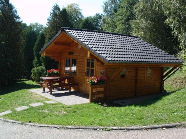 hiking hut for hire on Camping Plage Beaufort Luxembourg