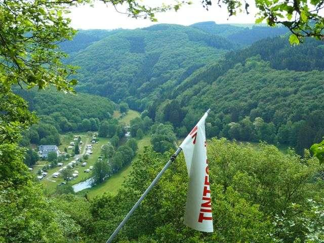 Camping Tintesmühle Heinerscheid Luxembourg in the natural park of the Our