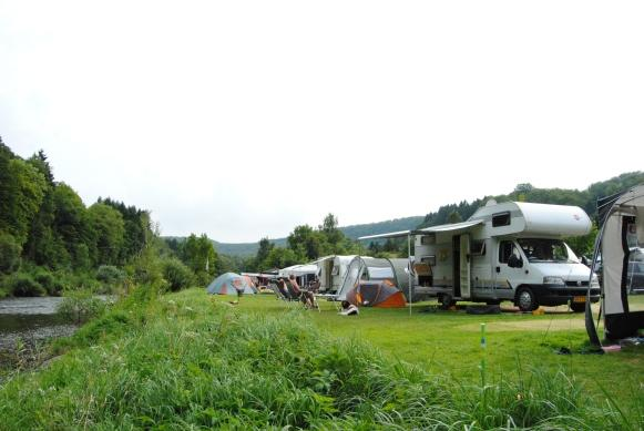 Motorhomes welcome at Camping Wies-Neu Dillingen Luxembourg