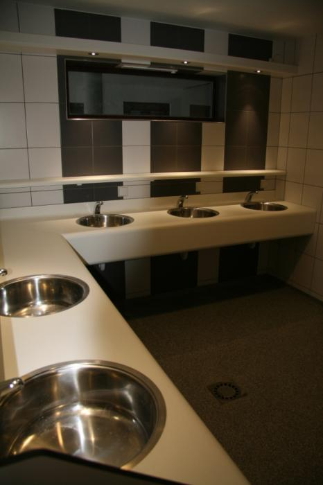 washrooms Camping Val d'Or Enscherange Luxembourg