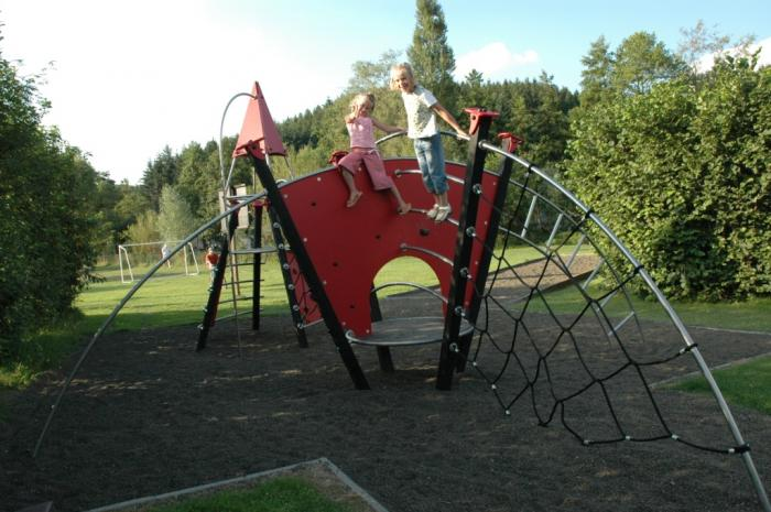 playground Camping Val d'Or Enscherange Luxembourg