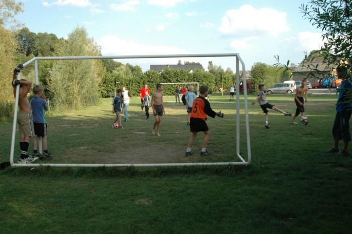 football field Camping Val d'Or Enscherange Luxembourg