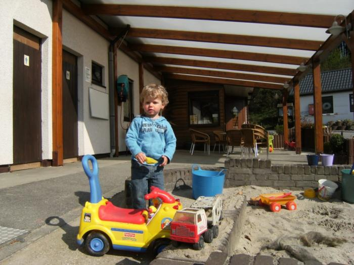 sandbox at Camping Val d'Or Enscherange Luxembourg