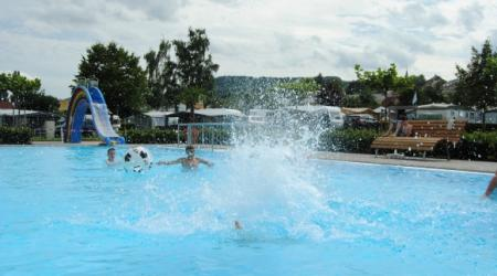 piscine Camping du Barrage Rosport Luxembourg
