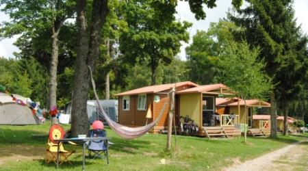 For hire chalets on Camping Auf Kengert Larochette Luxemburg