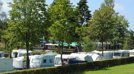 nature and restful environment on Camping Auf Kengert Larochette Luxemburg
