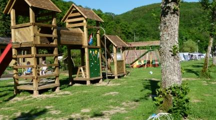 Camping du Nord Goebelsmuhle Luxembourg aire de jeux