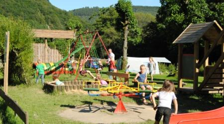 Camping du Nord Goebelsmuhle Luxembourg playground