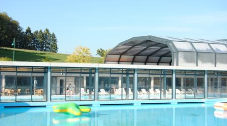 All weather swimmingpool Europacamping Nommerlayen Nommern Luxembourg