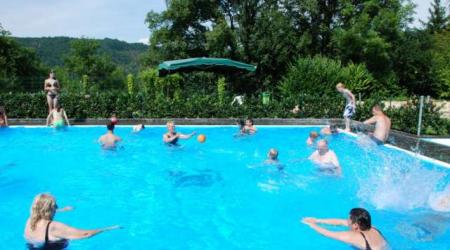 pool on Camping officiel Echternach Luxembourg
