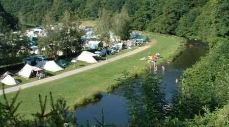 Camping Toodlermillen Tadler Luxemburg with bio farm