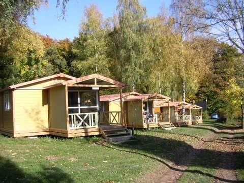 rent a chalet, self catering on Camping Auf Kengert Larochette Luxemburg