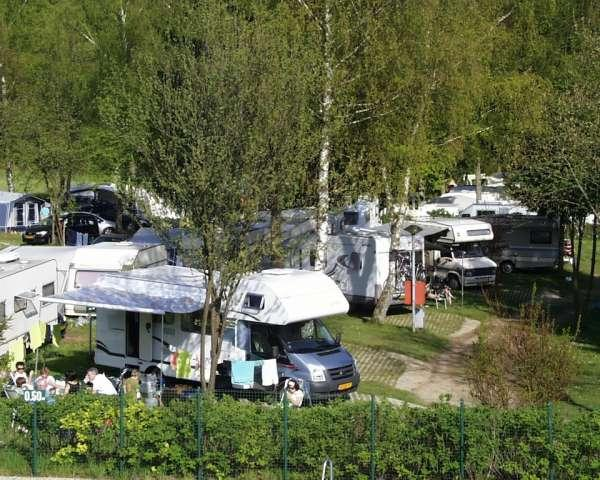 camp with your motorhome, campervan on Camping Auf Kengert Larochette Luxemburg