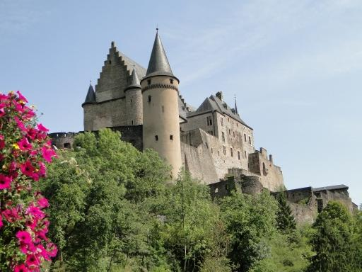 kasteel Vianden in Luxemburg