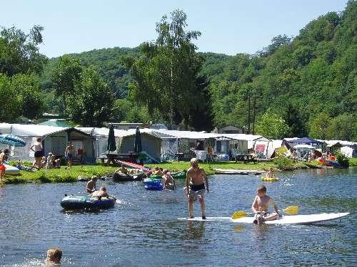 water activities next to Camping Bissen Heiderscheidergrund Luxembourg