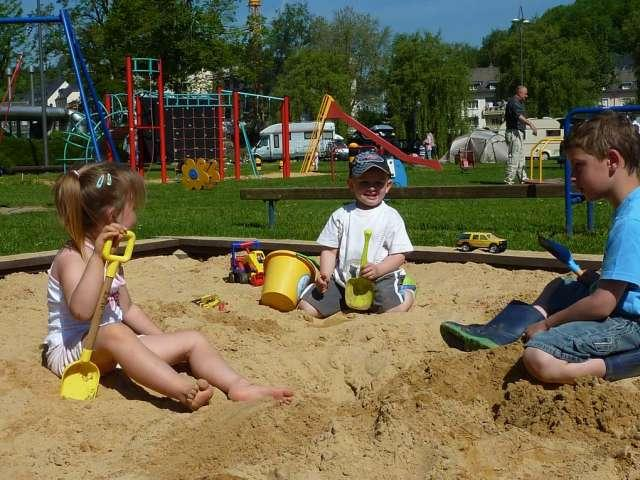playground Camping de la Sûre Diekirch Luxembourg
