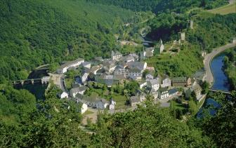 Esch-sur-Sûre in the Grand Duchy of Luxembourg