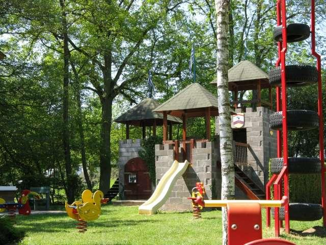 playground Camping Neumuhle Ermsdorf Luxembourg