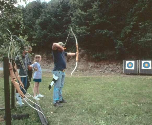 archery on Camping Reilerweier Clervaux Reuler Luxembourg