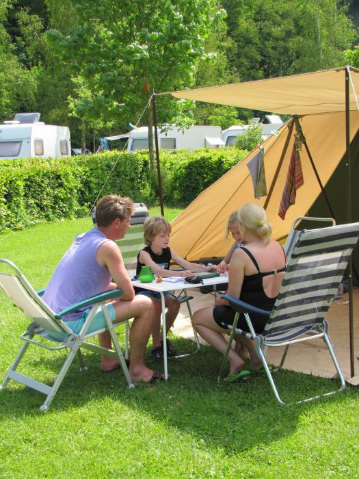 camp on Camping Toodlermillen Tadler Luxembourg