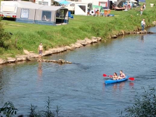canoeing and kayak next to Camping Wies-Neu Dillingen Luxembourg