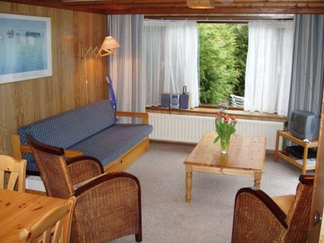 inside the rental mobilhome on Camping Woltzdal Maulusmuhle Luxembourg