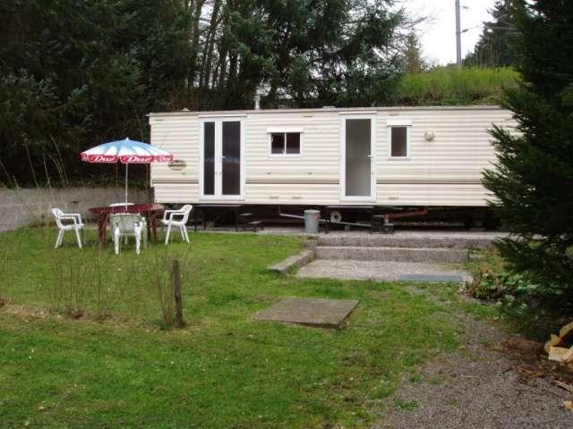 caravan for rent at Camping Woltzdal Maulusmuhle Luxembourg