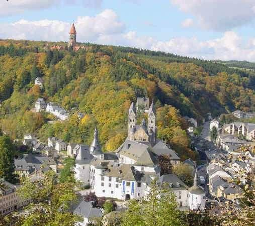 Destination Clervaux, the city of image in the Luxembourg Ardennes